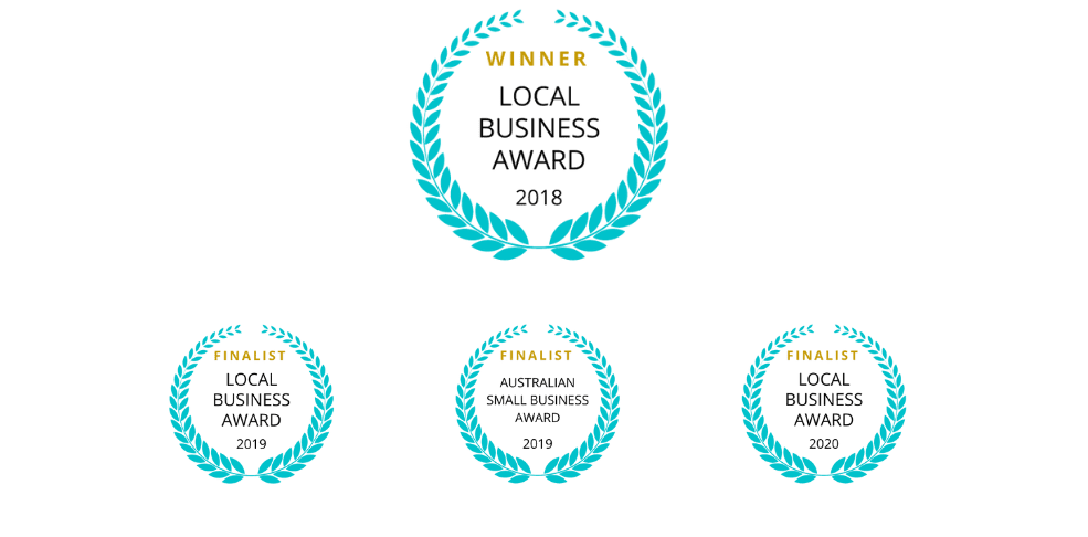 cryospa local business award winners